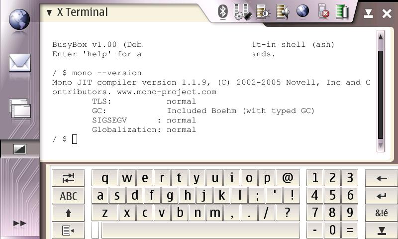 Mono on terminal